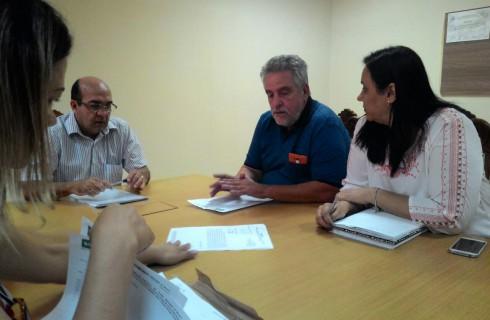 SIPROEM SE REUNE COM PREFEITO DE EMBU GUAÇU