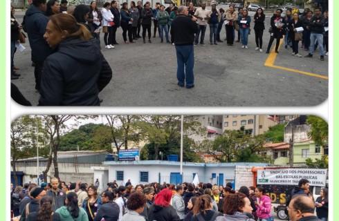 Professores de Taboão da Serra em Greve